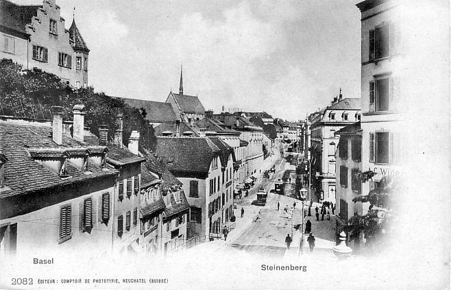 Steinenberg um 1900