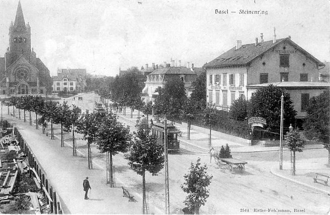 Steinenring um 1905