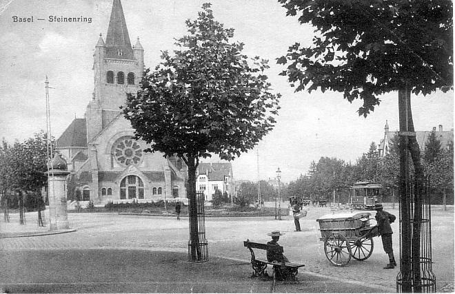 Steinenring um 1907