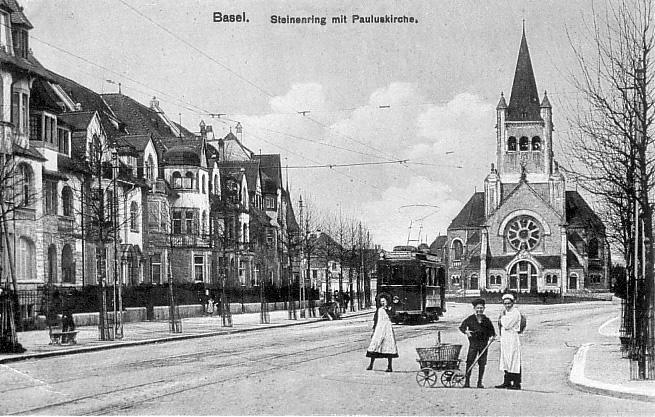 Steinenring um 1908