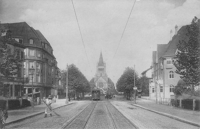 Steinenring um 1912