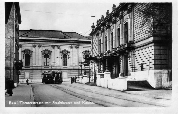 Theaterstrasse um 1930
