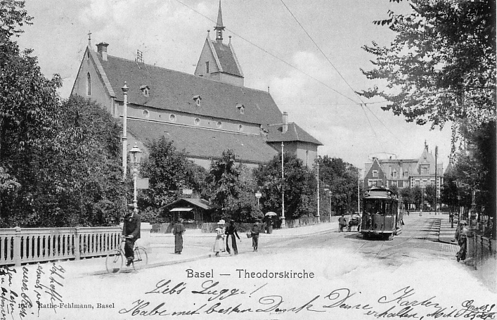 Theodorskirche um 1902