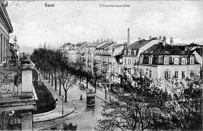 Thiersteinerallee um 1905
