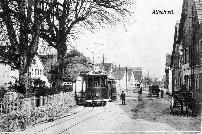 Dorfplatz um 1907