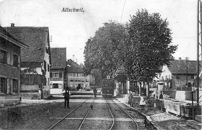 Dorfplatz 1905