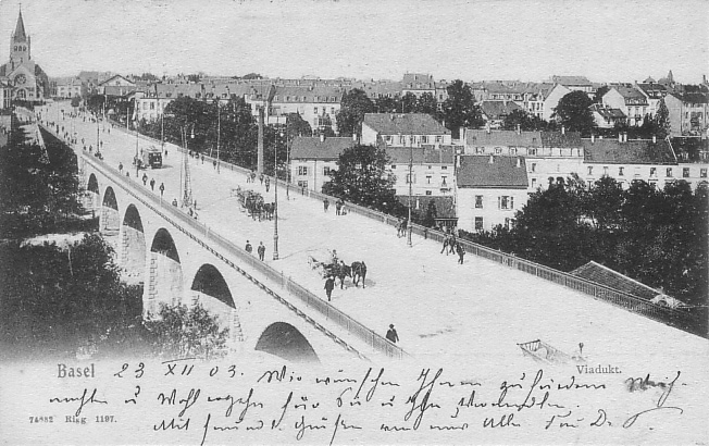 Viadukt um 1903