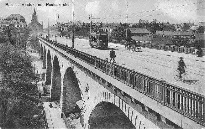 Viadukt um 1911