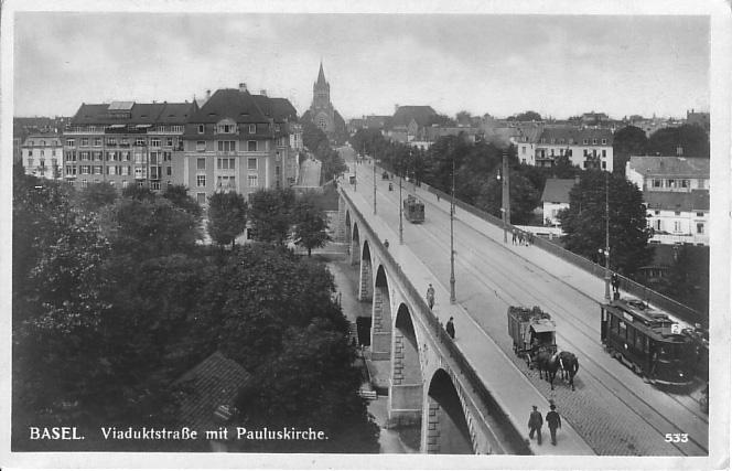 Viadukt um 1930