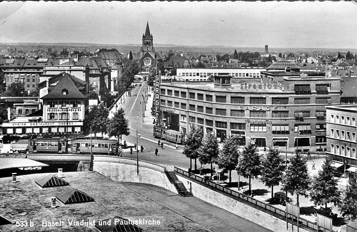 Markthallenkreuzung um 1945