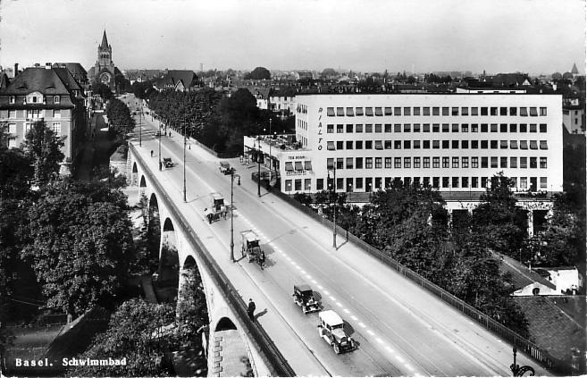 Viadukt um 1928