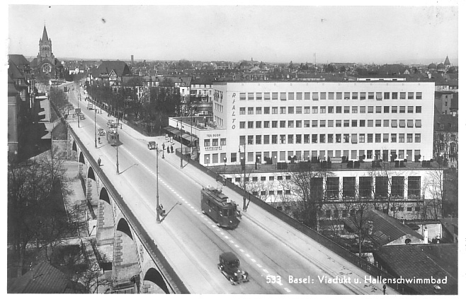 Viadukt um 1935