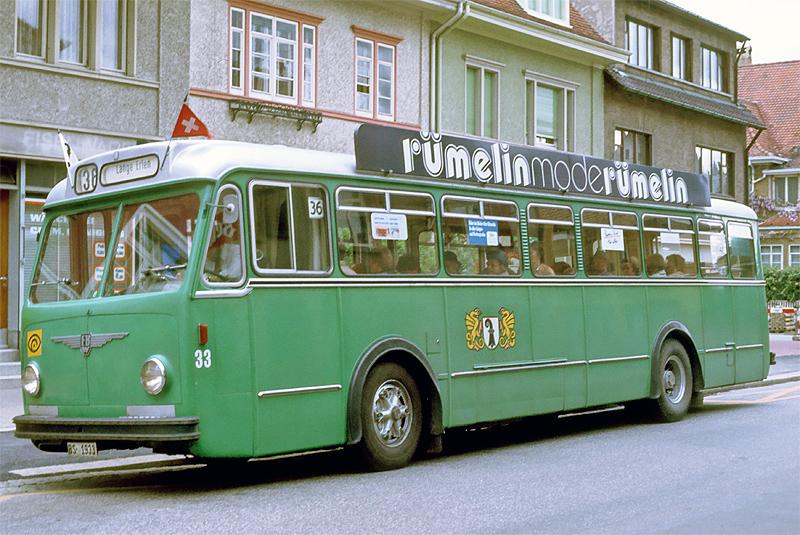 FBW B51U Nr. 33