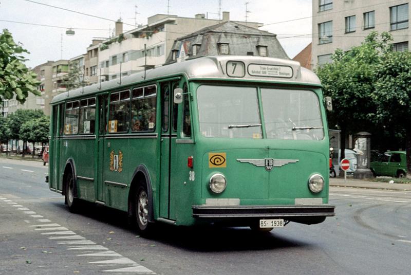 FBW B51U Nr. 38