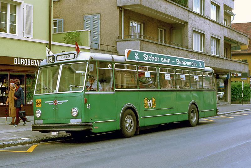 FBW B51U Nr. 43