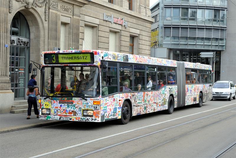 MB O 405 GN2 Nr. 736 «BVB-Moolbus»