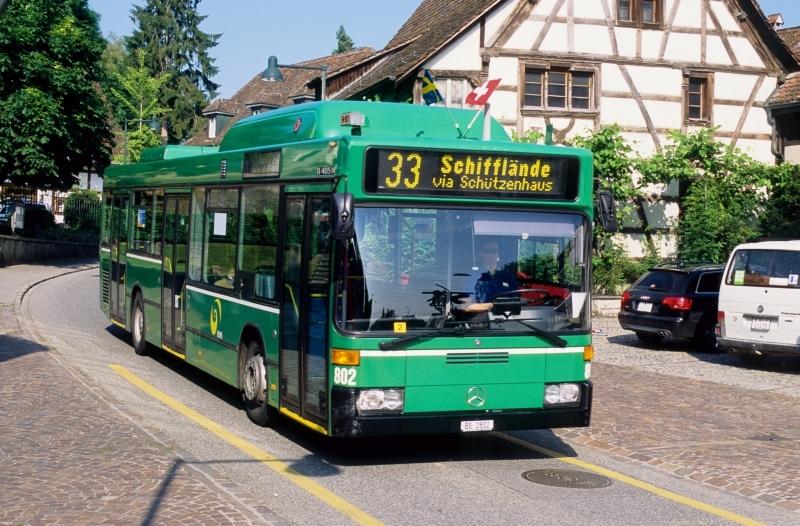 MB O 405 N2 CNG Nr. 802
