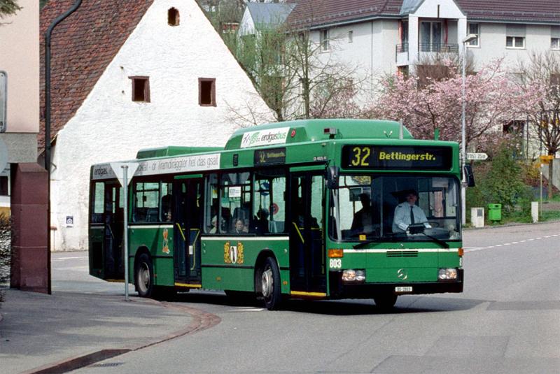 MB O 405 N2 CNG Nr. 803