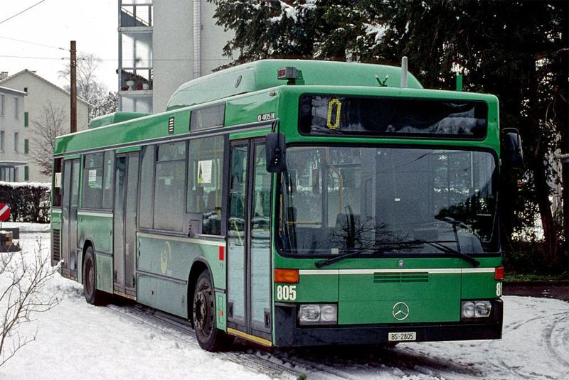 MB O 405 N2 CNG Nr. 805