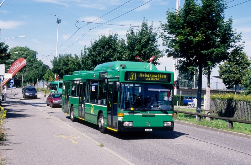 MB O 405 N2 CNG Nr. 807