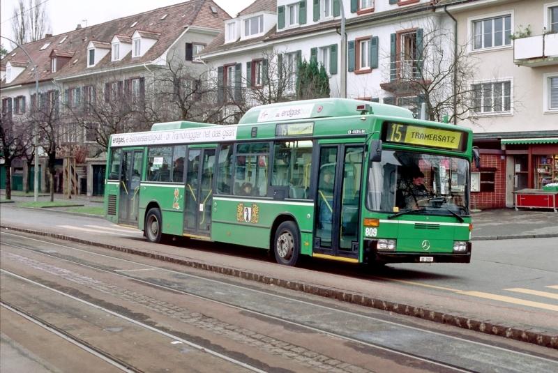 MB O 405 N2 CNG Nr. 809