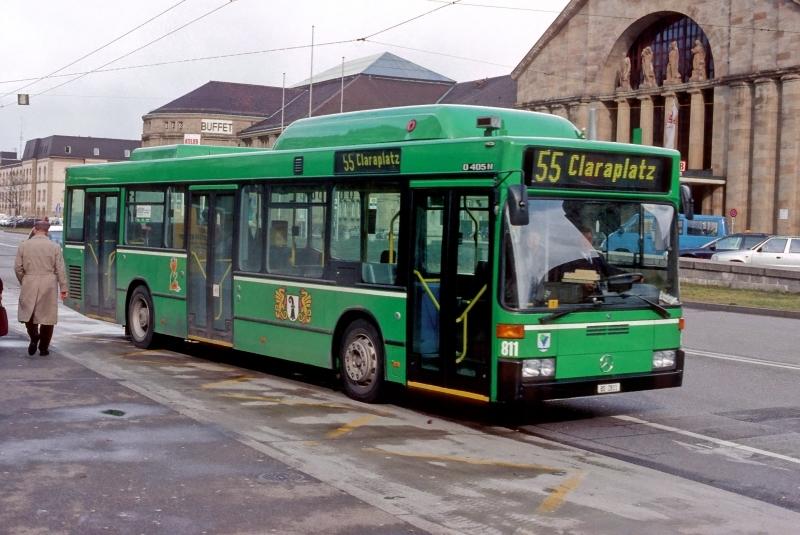 MB O 405 N2 CNG Nr. 811