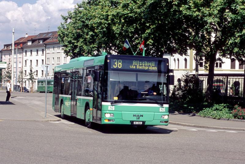MAN NL 313/A21 Nr. 826