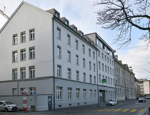Kraftstation, Werkstätte und Verwaltungsgebäude Claragraben