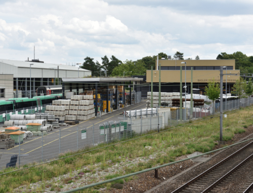 Infrastrukturzentrum Münchensteinerstrasse