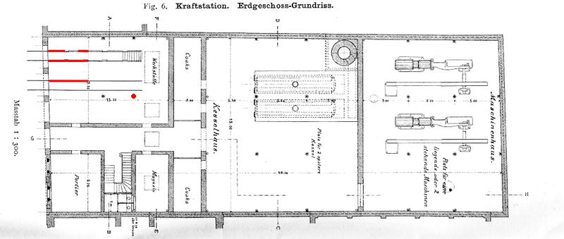 Kraftstation Ausgrabungen
