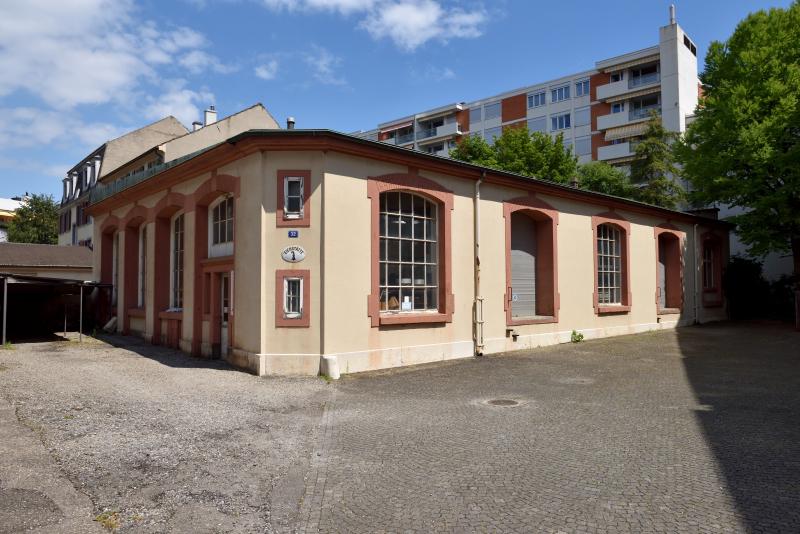Ehemaliges Depot Hammerstrasse