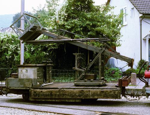 X 101 (Fahrleitungsmontagewagen)