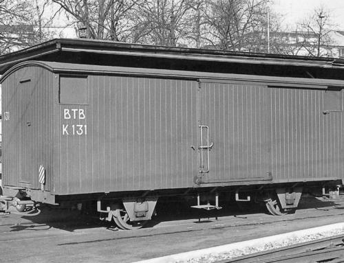 K 131 (gedeckter Güterwagen)
