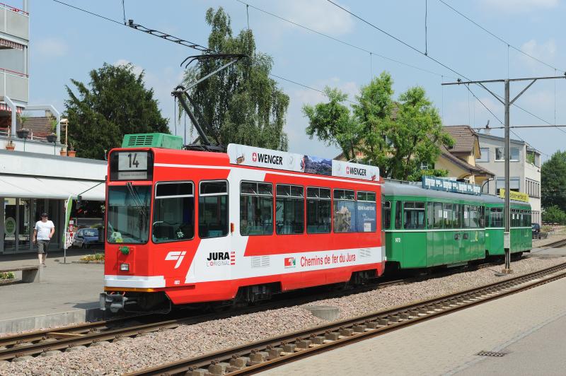 Be 4/4 482 «Chemins de fer du Jura»