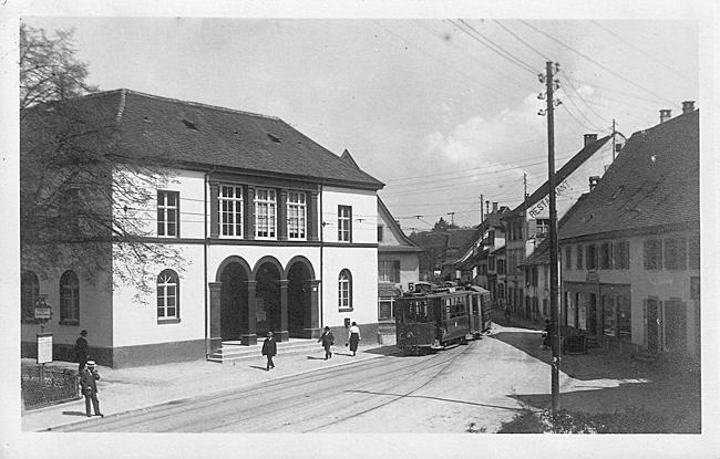 Baselstrasse um 1925