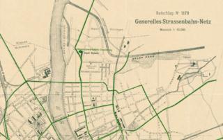 Generelles Strassenbahnnetz