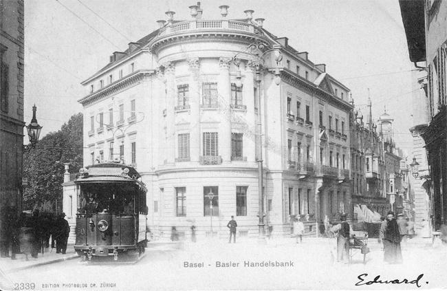 Handelsbank um 1905