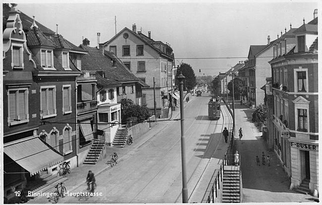 Hauptstrasse um 1936