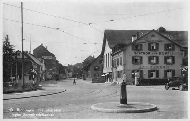 Hauptstrasse um 1940