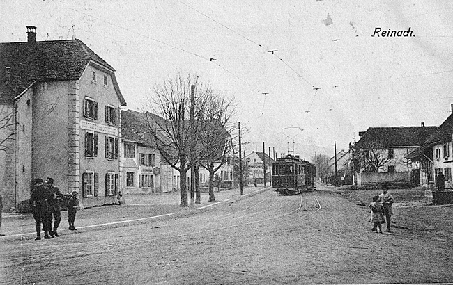 Hauptstrasse um 1912