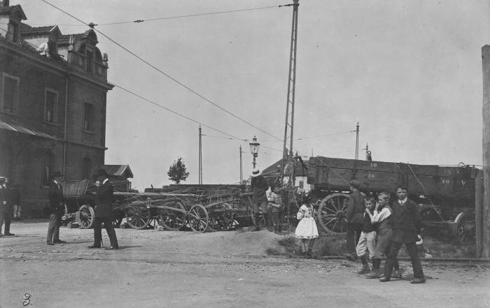 Grenzbesetzung 1914