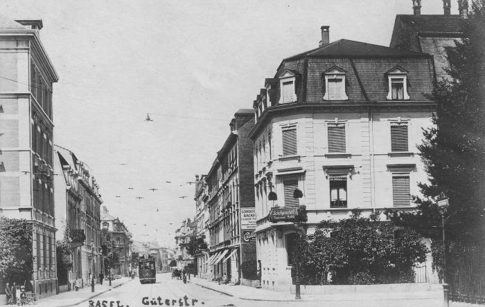 Güterstrasse um 1915