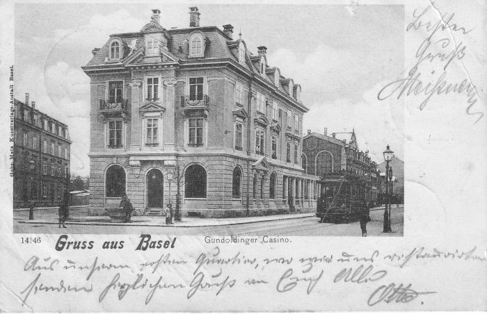 Güterstrasse um 1901