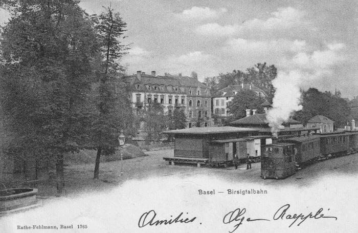 BTB-Station um 1903