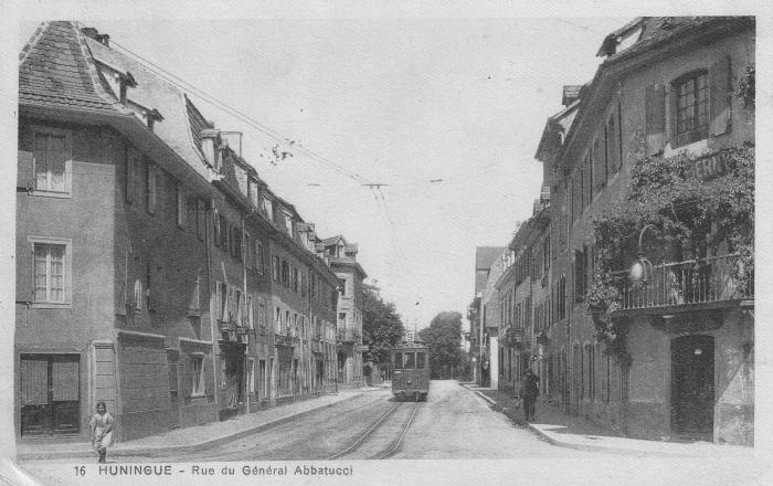 Rue du Général Abbattucci um 1925
