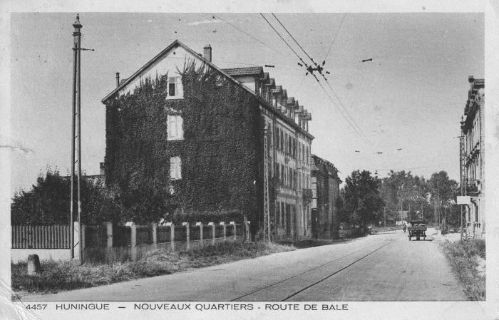Route de Bâle um 1920