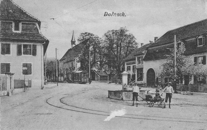 Amthausplatz um 1910
