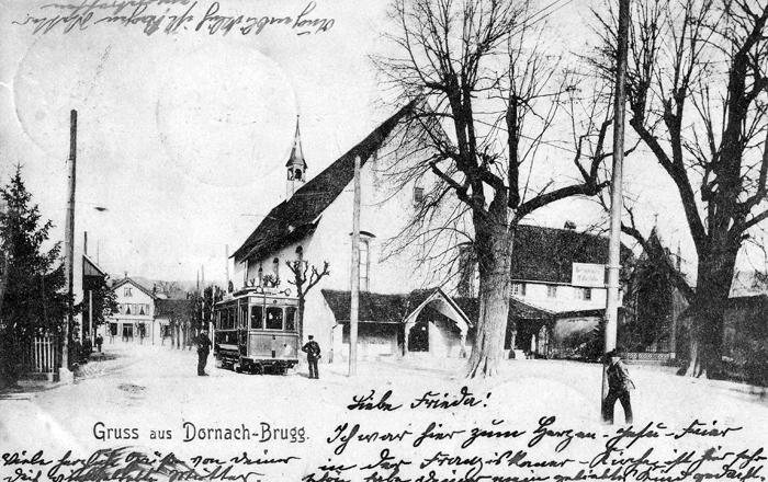 Amthausstrasse um 1902