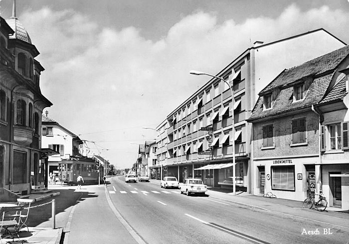 Hauptstrasse um 1965