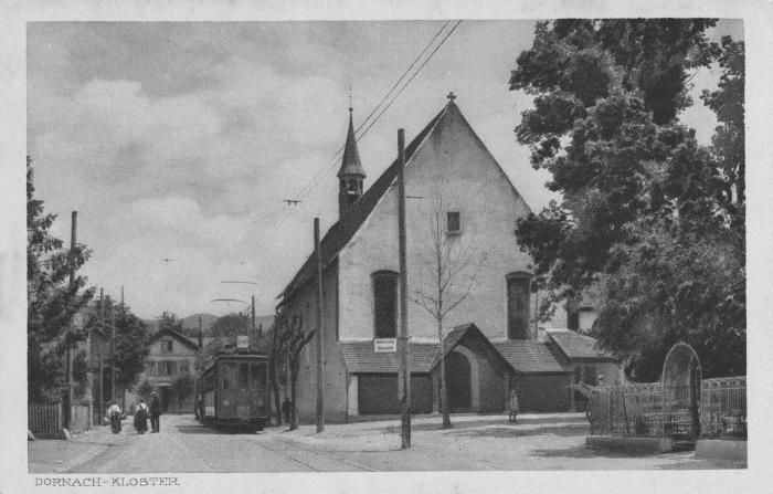 Kapuzinerkloster um 1918